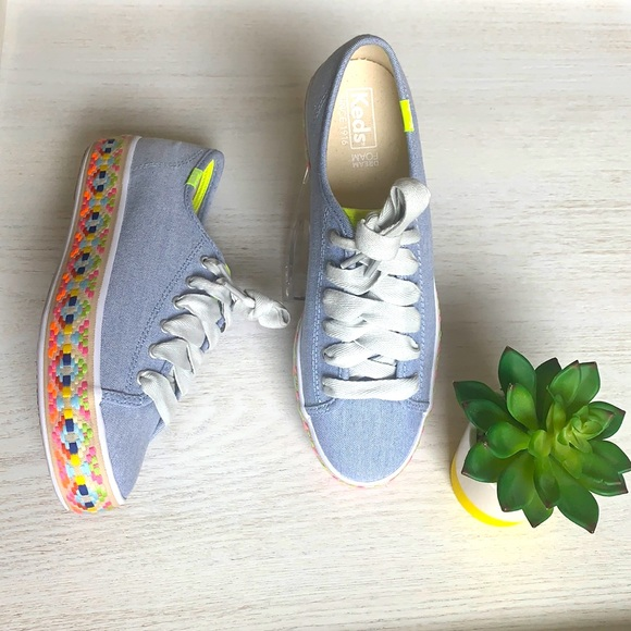 NWOB Keds platform sneakers